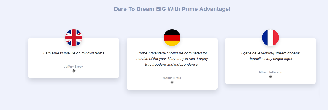 prime advantage 3